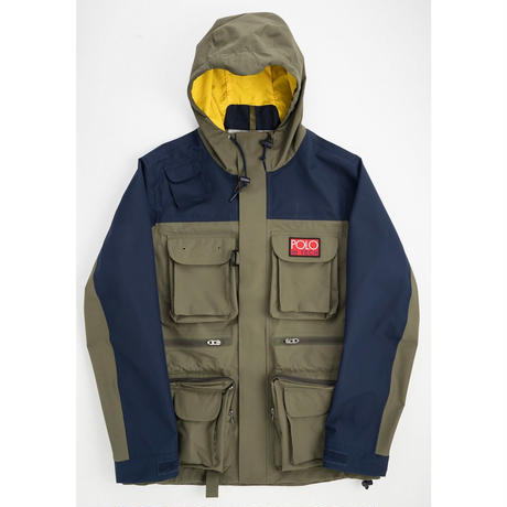 POLO RALPH LAUREN HI TECH POLYESTER - HI TECH 3L ANORAK