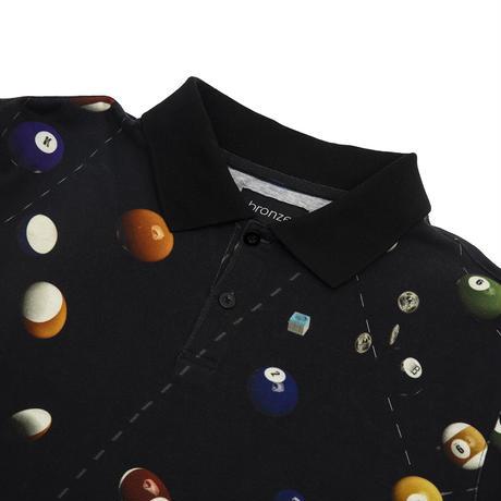 Bronze 56k Billiard Polo  -  Black
