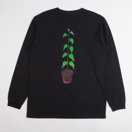 GRIND LONDON GROW L/S TEE - BLACK