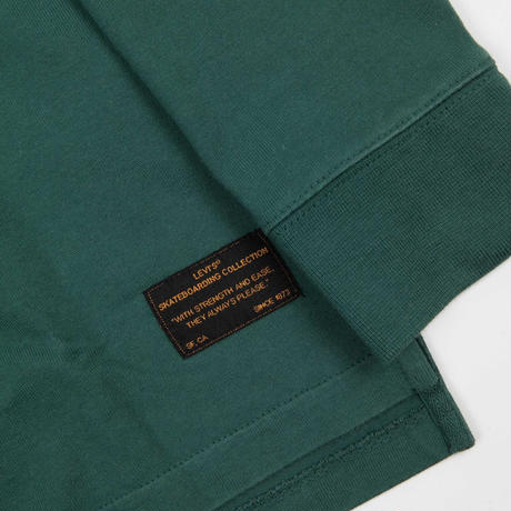 c86f048b9c5 ... Levi's Skate Long Sleeve Rugby Shirt - Trekking Green ...