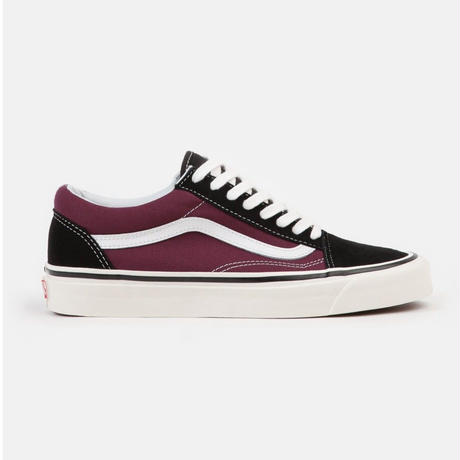 VANS OLD SKOOL 36 DX  <Anaheim Factory> - BLACK / BURGUNDY