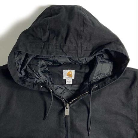 Carhartt Washed Duck Insulated Active Jacket - Black