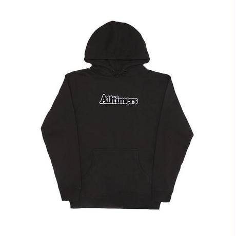 ALLTIMERS BROADWAY HOODY - Black