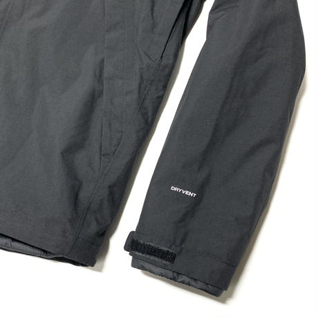 THE NORTH FACE LONEPEAK TRI JACKET - BLACK/WHITE