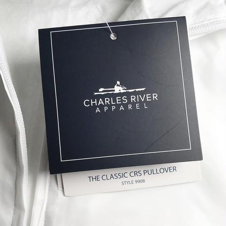 Charles River Classic Striped Anorak - White/Navy