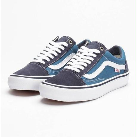 VANS OLD SKOOL PRO - NAVY WHITE
