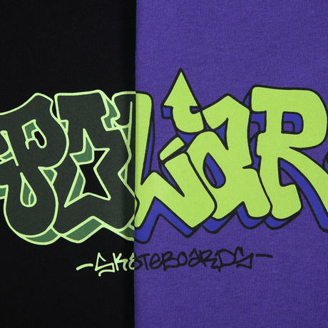 POLAR SKATE CO x IGGY NYC GRAF TEE - BLACK