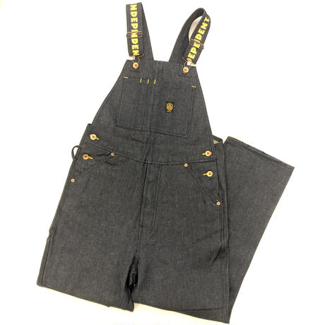 BRIXTON × INDEPENDENT YARD DENIM OVERALL