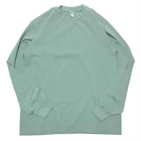 LOS ANGELES APPAREL 6.5oz Garment Dye L/S Tee - Athletic Green