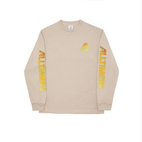 ALLTIMERS ARTISTS LONGSLEEVE TEE - SAND