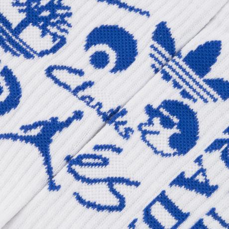 Classic Grip Sponsor Socks - White