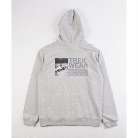GRIND LONDON TREK WEAR HOOD - GRAY