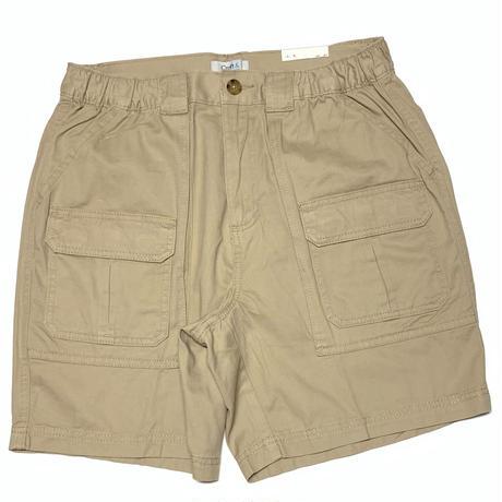 Croft & Barrow Fishing Cargo Shorts-Khaki