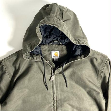 Carhartt Washed Duck Insulated Active Jacket - Moss