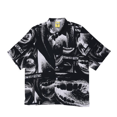 POLAR SKATE CO x IGGY NYC ALTERNATIVE YOUTH SHIRT - BLACK