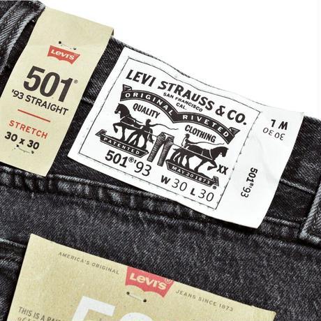 LEVIS 501 - Wash Black