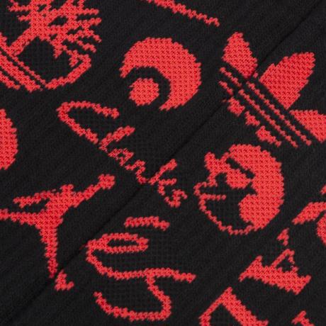 Classic Grip Sponsor Socks - Black