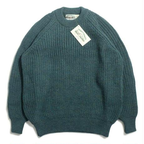 West End Knitwear Fisherman Crewneck Sweater - Moss