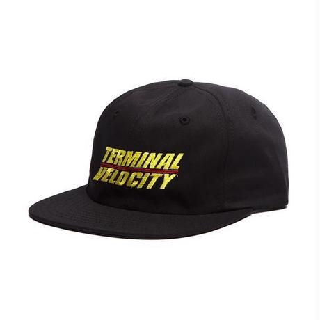 ALLTIMERS TERMINAL VELOCITY HAT - BLACK