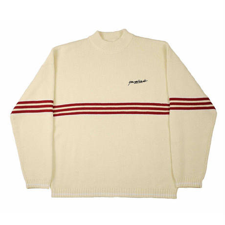 YARDSALE Pierre knitted Sweatshirt - Cream