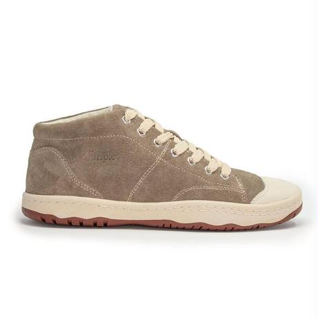 Simple Retro 91 Mid-Top Sneaker-Taupe
