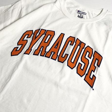 Syracuse University Short Sleeve T-Shirts - White