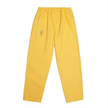 ALLTIMERS YACHT RENTAL PANTS YELLOW