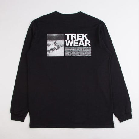 GRIND LONDON TREK WEAR L/S TEE - BLACK