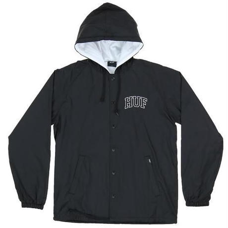 HUF ARCH BLOCK HOODED COACHES JACKET