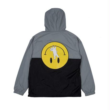 RIPNDIP It Won't Be Ok Anorak Jacket (Black / Gray)