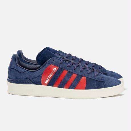 ADIDAS SKATEBOARDING x MAX FISH BAR CAMPUS ADV - NIGHT SKY/RED/WHITE