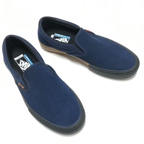 VANS SLIP-ON PRO (SPLIT FOXING) DRESS BLUE / BLACK