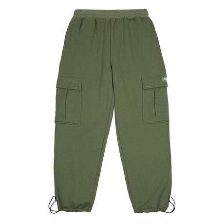 DIME CARGO SWEAT PANTS - MILITARY GREEN
