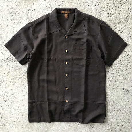 HARRITON CAMP SHIRT - BLACK