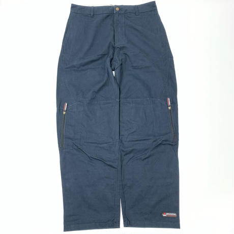 BRONZE ZIP TECH PANT - NAVY