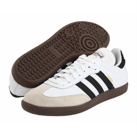adidas Samba Classic - White / Brown