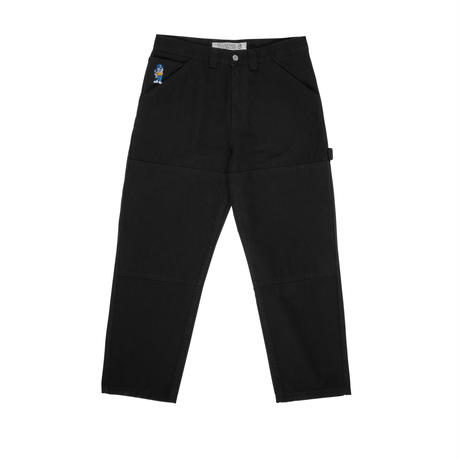 POLAR SKATE CO 93 CANVAS-BLACK