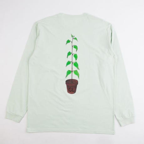GRIND LONDON GROW L/S TEE - GREEN