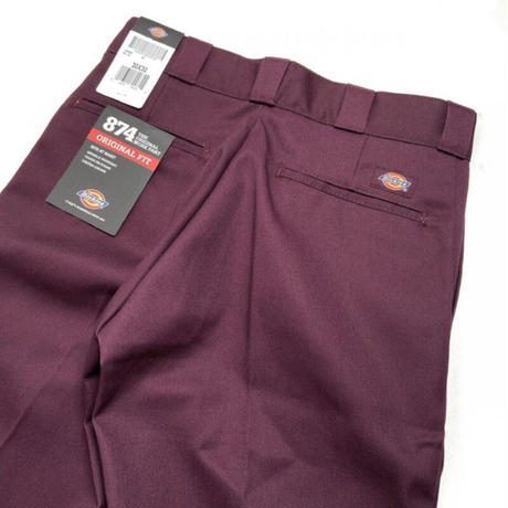 Dickies Original 874 Work Pants - Maroon