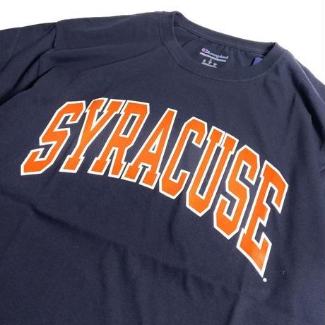 Syracuse University Short Sleeve T-Shirts - Navy