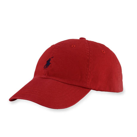 POLO RALPH LAUREN CLASSIC SPORTS CAP - RED / NVY