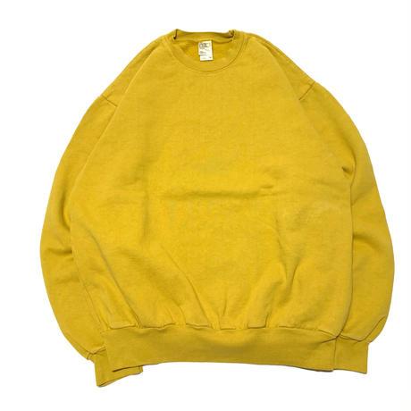 LOSANGELS APPAREL 14oz Garment Dye Crewneck-DIJON