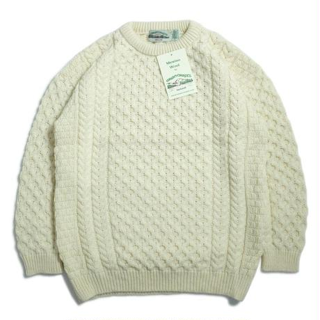West End Knitwear Merino Crewneck Sweater - Natural