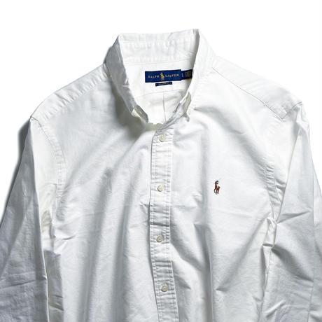 Ralph Lauren Oxford Sport Shirt - White  (M~XL)