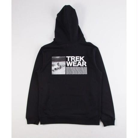GRIND LONDON TREK WEAR HOOD - BLACK