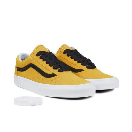 22b3ea7bd55f VANS OLD SKOOL OVERSIED LACE - Tawny Olive   Black ...