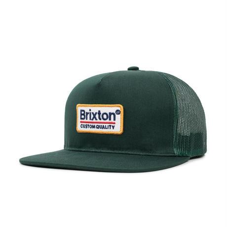 BRIXTON PALMER MESH CAP - PINE