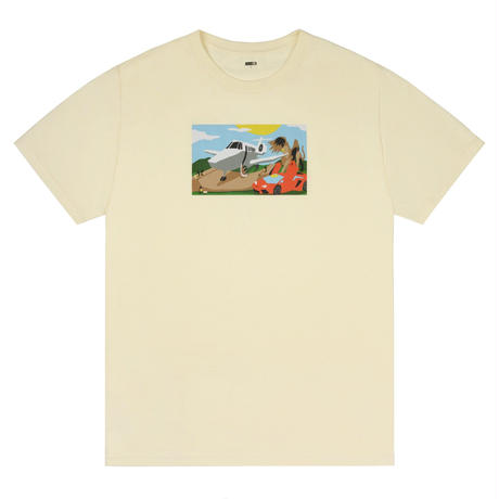 CLASSIC GRIP MINI RAMP TEE - CREAM