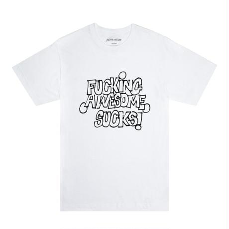 FUCKING AWESOME Sucks Tee - White/Black