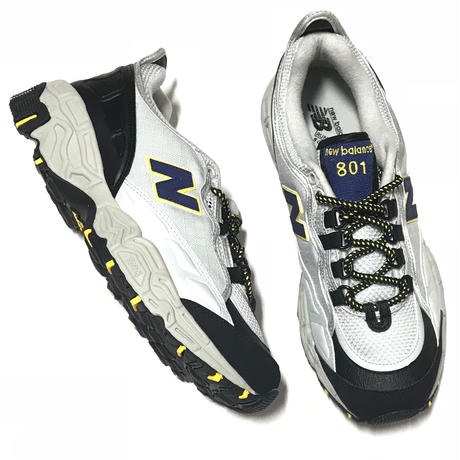 NEW BALANCE M801  AT - Silver/Black/Yellow
